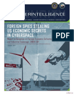 DNI Report - Foreign Spies Stealing U.S. Economic Secrets in Cyberspace