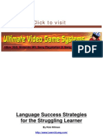 Language Success Strategies - Learn Spanish Accellerated Accelerated Learning(1)