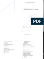 University in Ruins-Introd