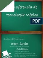 Transferencia de tecnología México