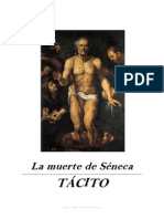 Cayo Cornelio Tácito - La muerte de Séneca