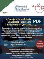 Video conferencia en Universidad Rafael Landivar Quetzaltenango.