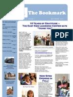 Newsletter 9-28-11