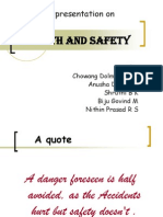 Industrial relevance towards Health and Safety