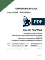 GUIA DEL PROFESOR ELECTRICIDAD Y ELECTRÓNICA