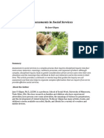 Assessments in Social Services