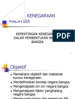 Bab 1kepentingan Kenegaraan Dalam Pembentukan Negara Bangsa