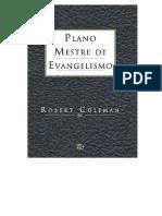 23220483 Robert E Coleman Plano Mestre de Evangelismo