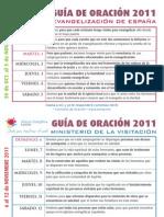 Guía Oración 2011 Noviembre