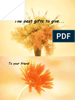 The Gifts to Give