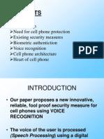 CellPhone Protection Ppt Seminars