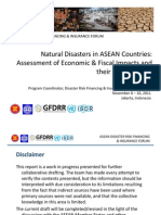 S3 ASEAN DRFI Forum FinRiskProfiles&Impacts Nov3