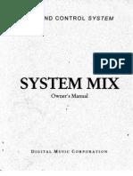 DMC System Mix Owner Manual