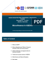 S5_Microfinance Trends and Natural Disasters Indonesia Nov 2011
