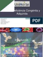 Imunodeficiência Congênita e Adquirida apresentação