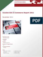 Brochure & Order Form_Sweden B2C E-Commerce Report 2011