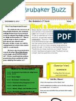 4th Grade Newsletter 11411