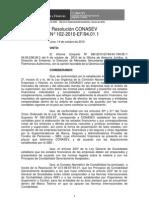 Conasev N° 102-2010-EF 94.01.1
