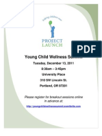 Young Child Wellness Summit Sessions