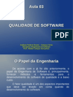 Aula 03 - Qualidade de Software