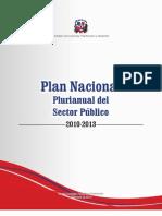 Plan Nacional Plurianual del Sector Público