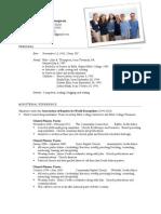 Thompson Resume 2011 09
