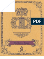 Doctor Who RPG (1 of 3) - Player's Manual