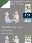 Setting Up a Classroom Blog