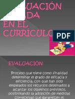 Evaluacion Basada en El Curriculo