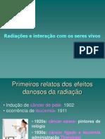 interacao da radiação