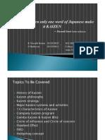 KAIZEN Presentation - Print