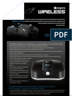 Compex Wireless Ficha Tecnica