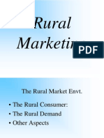 5. Rural Marketing