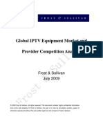 Global IPTV Equipment Market and Provider Competitor Analysis