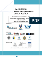 Programa IV Congreso CHILECIP Definitivo