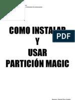 Manual del Partición Magic 8