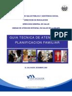 ENFERMERIA-UNIMET- ESTELI Guia Planificacion Familiar