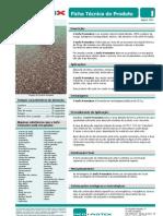 Ficha técnica turfa para absorção óleos