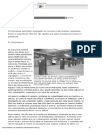 Artigo Revista Téchne - Aditivos e Adições