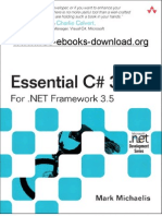 Essential CSharp 3 for Dot NET Framework 3 5