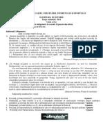 2011 Istorie Etapa Nationala Subiecte Clasa a X-A 0