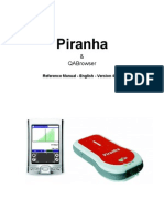 Piranha & QABrowser Reference Manual - English - V4.0B