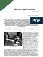 Conversaciones Con J. Baudrillard Venezuela 2004