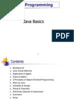 Lectre 1- Java Intro