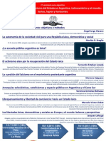 2011, CLP, Seminario Laicismo, Afiche 02
