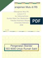 Materi 12 Pen Gen Alan Standar ISO 9001