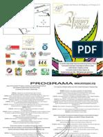 Programa oficial del Segundo Congreso Nacional del Maguey y el Pulque