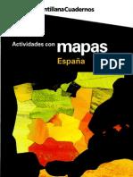 Actividades con mapas SANTILLANA. España