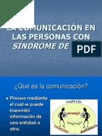 LA COMUNICACIÓN EN LAS PERSONAS CON SÍNDROME DE