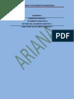 Esquemas y Documentos Maestros 2